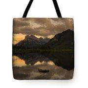Vermillion Lake Sunset Tote Bag