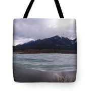 Vermillion Lakes, Banff National Park - Panorama Tote Bag
