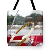 Vermont Boat Docked Tote Bag