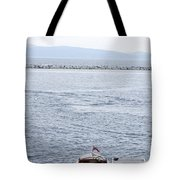 Vermont Boat Pier Tote Bag