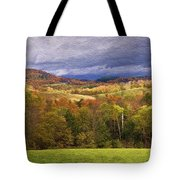 Vermont Colors Tote Bag