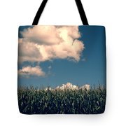 Vermont Cornfield Tote Bag by Edward Fielding