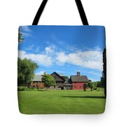 Vermont Country Home Tote Bag