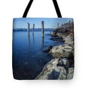 Vermont Lake Champlain Sunrise Burlington Tote Bag