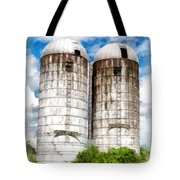 Vermont Silos Tote Bag