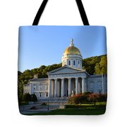 Vermont State House Tote Bag
