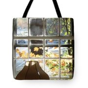 Vermont Window East View  Tote Bag