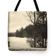 Vermont Winterland Tote Bag