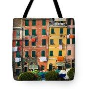 Vernazza Facades Tote Bag