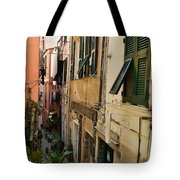 Vernazza Street Tote Bag