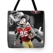 Vernon Davis 49ers Tote Bag