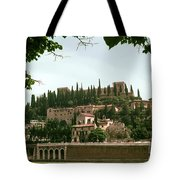Verona On The Adige Tote Bag