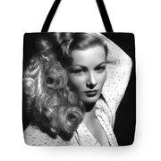 Veronica Lake Actress Tote Bag