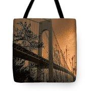 Verrazano Sundown Tote Bag