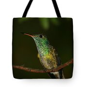 Versicolored Emerald Tote Bag
