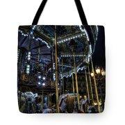 Vertical Carousel Tote Bag