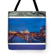 Vertical Collage - Kremlin View - Featured 3 Tote Bag