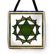Vertical Columns Of Energy Abstract Chakra Art By Omaste Witkows Tote Bag
