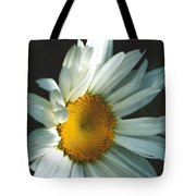 Vertical Daisy Tote Bag