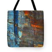 Vertical Dominance In Horizontal Sea Tote Bag