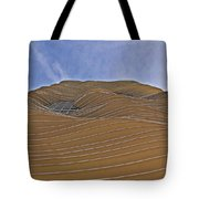 Vertical Dune - The Aqua Tower Tote Bag