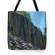 Vertical View Tote Bag