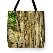 Vertical Vines Tote Bag by Jess Kraft