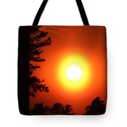 Very Colorful Sunset Tote Bag