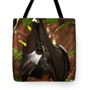 Very Fruity Bat Tote Bag