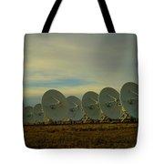 Very Large Array Near Socorro New Mexico Tote Bag