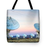 Very Large Array Of Radio Telescopes 1 Tote Bag