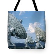 Very Large Array Of Radio Telescopes Tote Bag