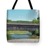Very Long Covered Bridge Tote Bag