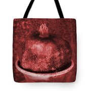Very Red Pomegranate Tote Bag