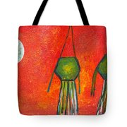 Vesak Lanterns Tote Bag