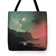 Vesuvius From Posillipo Tote Bag