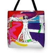 Vetruvian Tote Bag