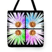 Vexel Flower Collage Tote Bag