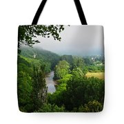 Vezere River Valley Tote Bag