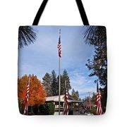 Vfw Hall Veterans Day Tote Bag