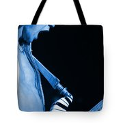 Vh #19 In Blue Tote Bag