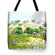 Viano Winery Martinez California Tote Bag