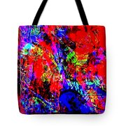 Vibrance Personified Into A Physical Object Tote Bag