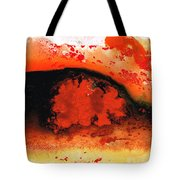 Vibrant Abstract Art - Leap Of Faith By Sharon Cummings Tote Bag