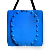Vibrant Blue Cover Tote Bag