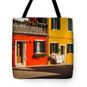 Vibrant Burano Tote Bag
