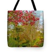 Vibrant Garden  Tote Bag