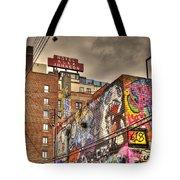 Vibrant Lodging Tote Bag