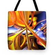 Vibrant Love Abstract Tote Bag