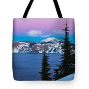 Vibrant Winter Sky Tote Bag